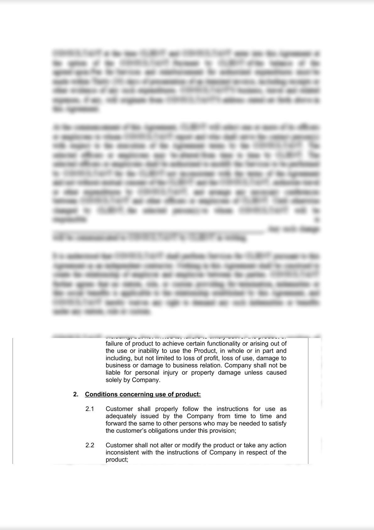 Product Warranty Document-3