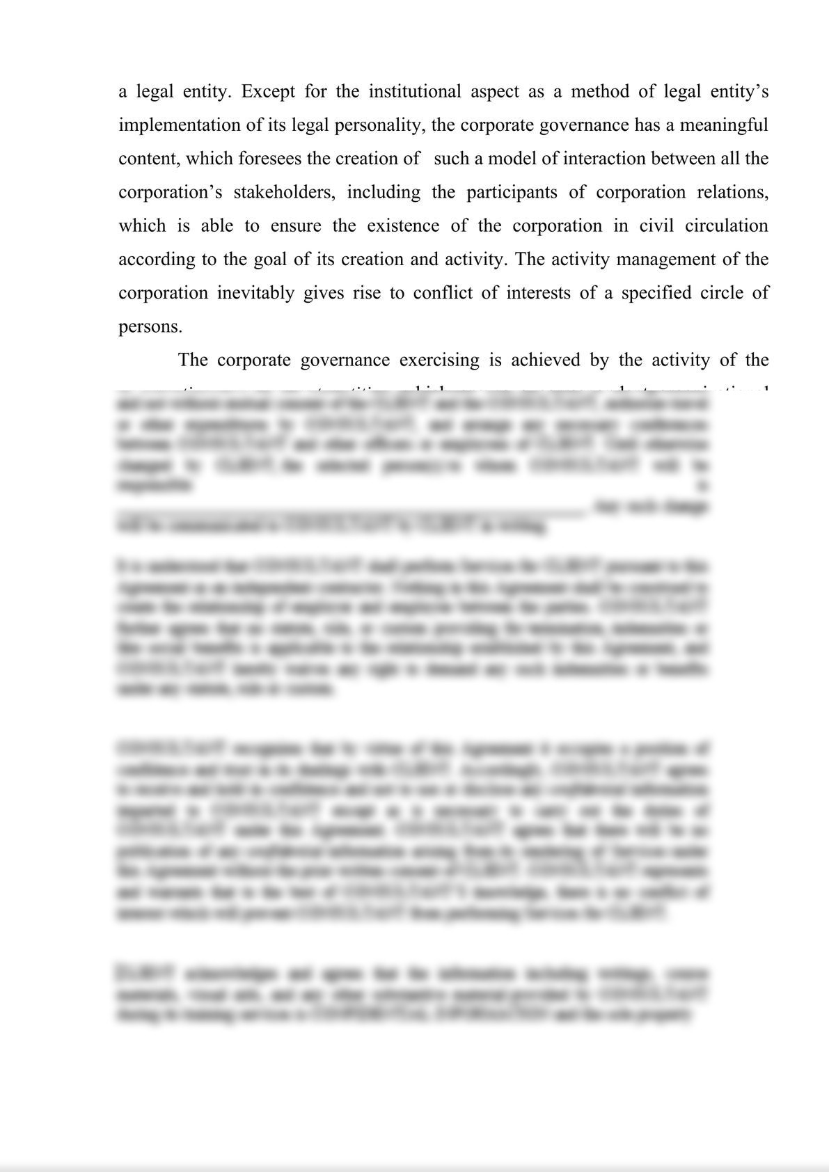 LEGAL ASPECTS OF THE CORPORATE GOVERNANCE-1