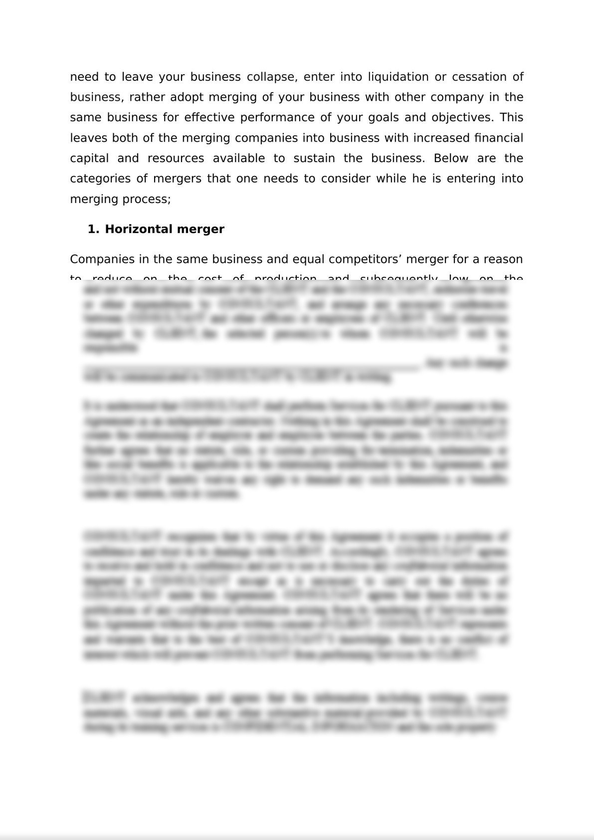 MERGERS AND ACQUISITIONS: Case Study of Rwanda -3
