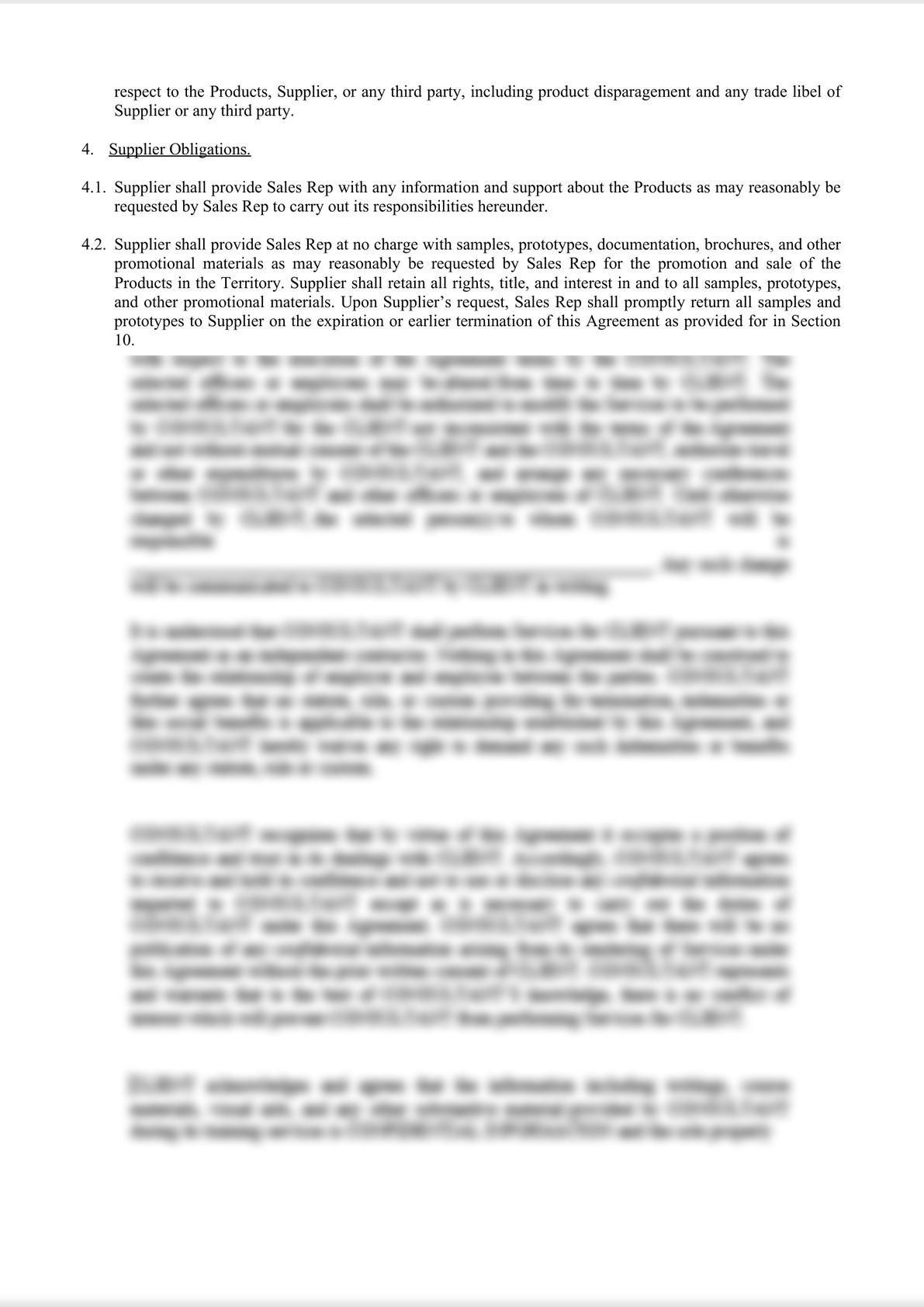 Sales Representative Agreement-1