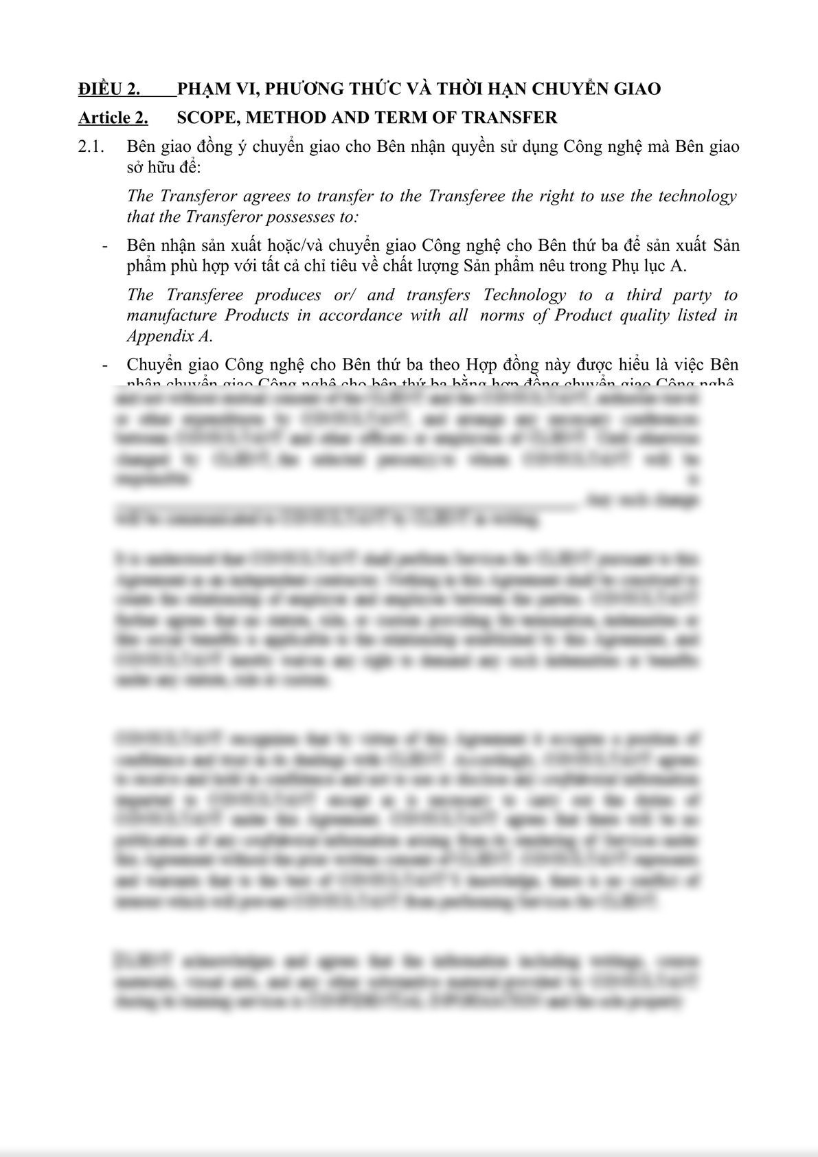 TECHNOLOGY TRANSFER AGREEMENT-2