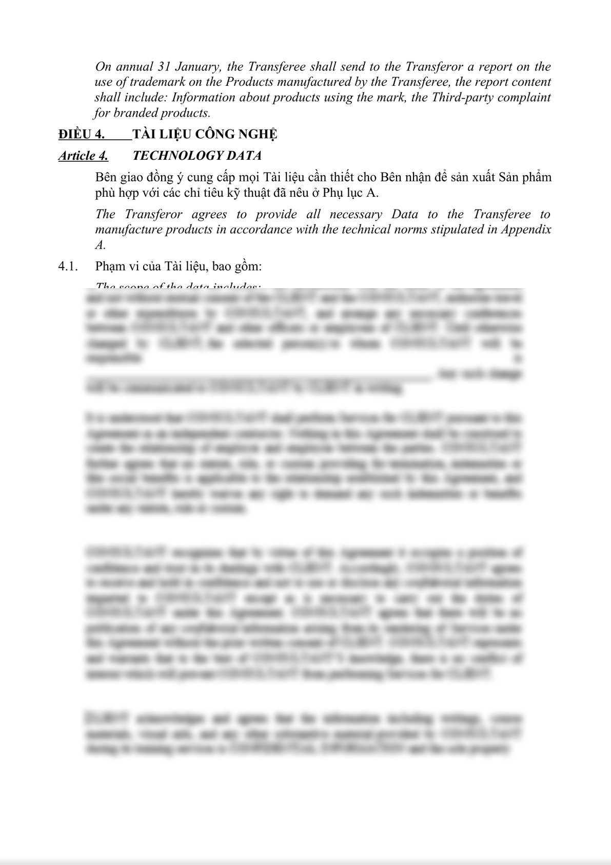 TECHNOLOGY TRANSFER AGREEMENT-4