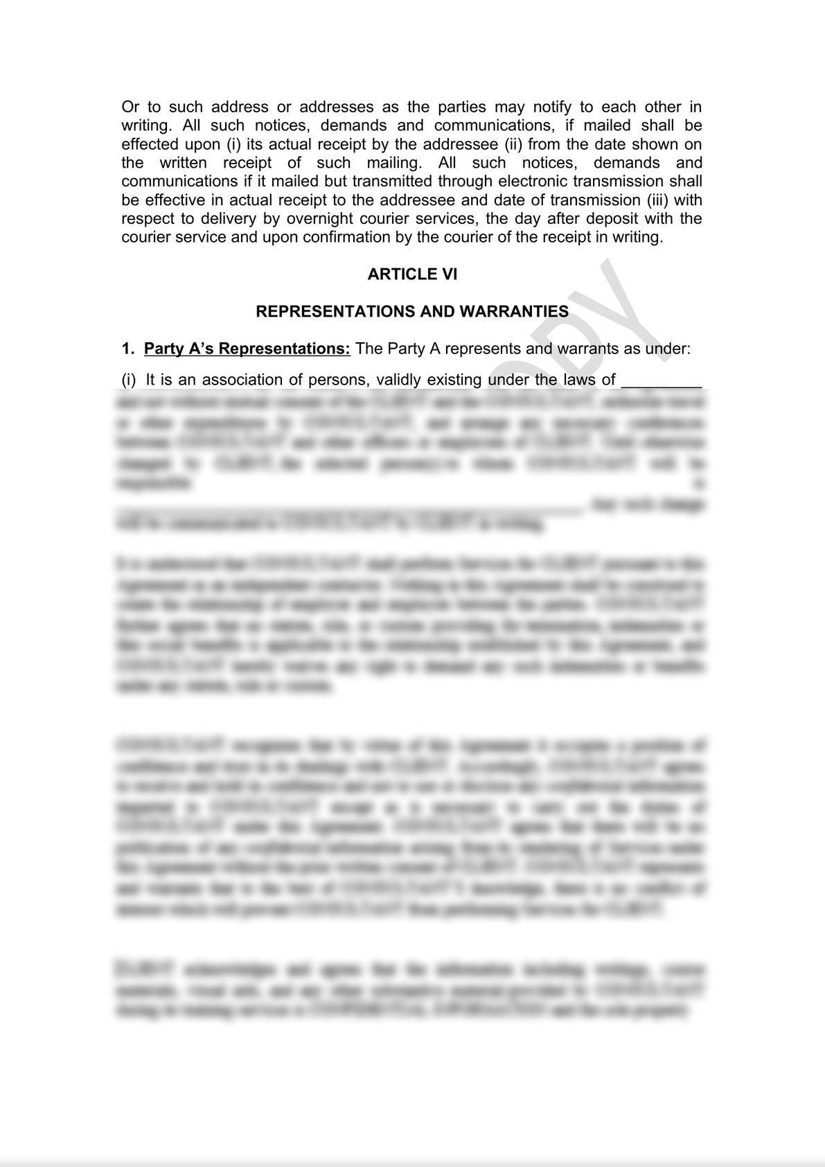 Distributor Agreement Draft-4
