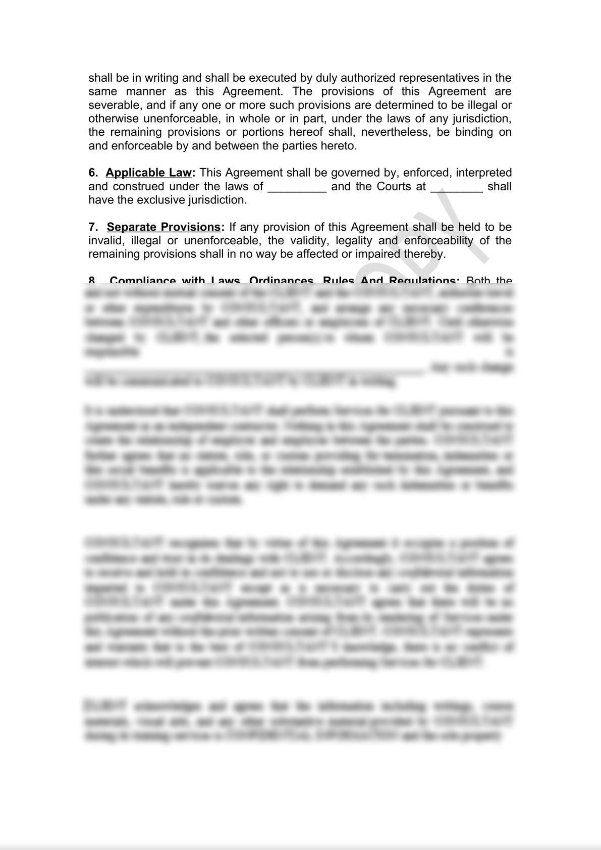 Distributor Agreement Draft-6
