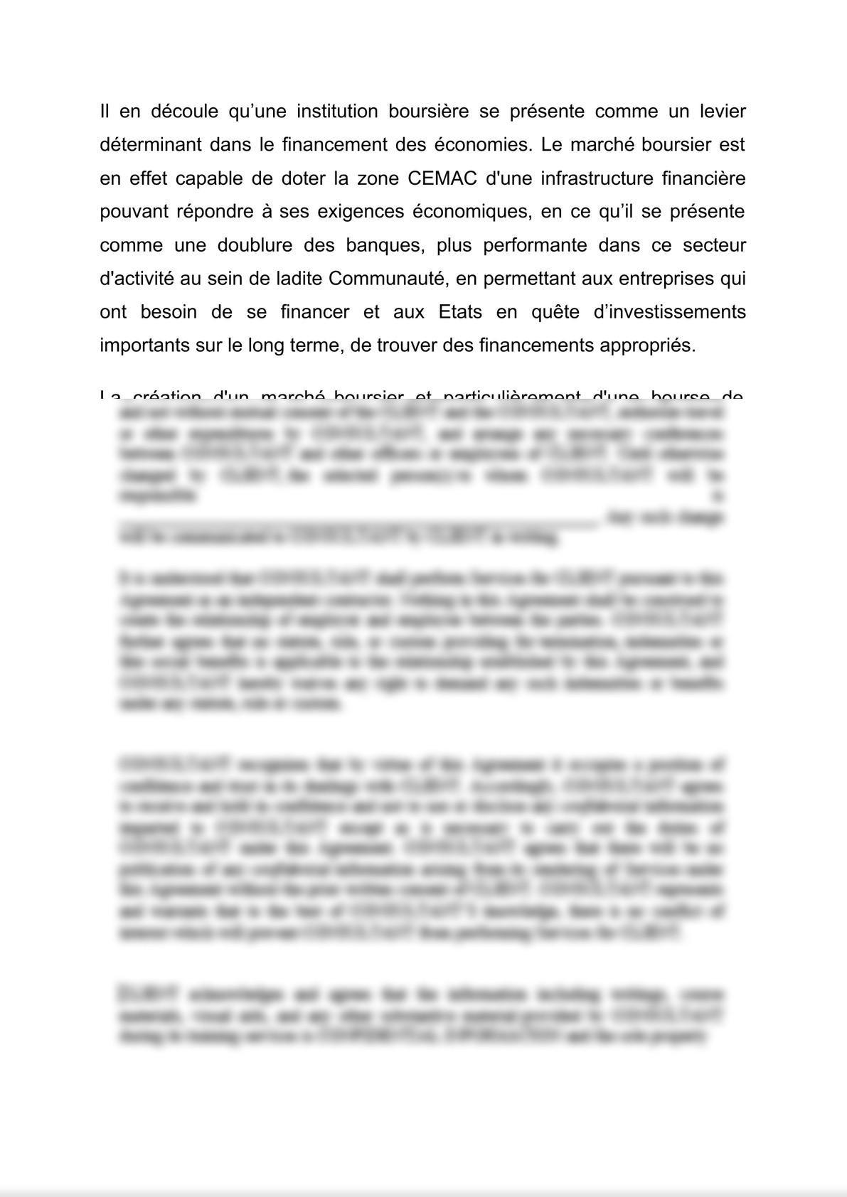 BVMAC/En prélude au lancement de la cotation du compartiment des actions à la Bourse des Valeurs Mobilières d'Afrique Centrale, retrouver ci-dessous notre brève sur les enjeux et intérê-1