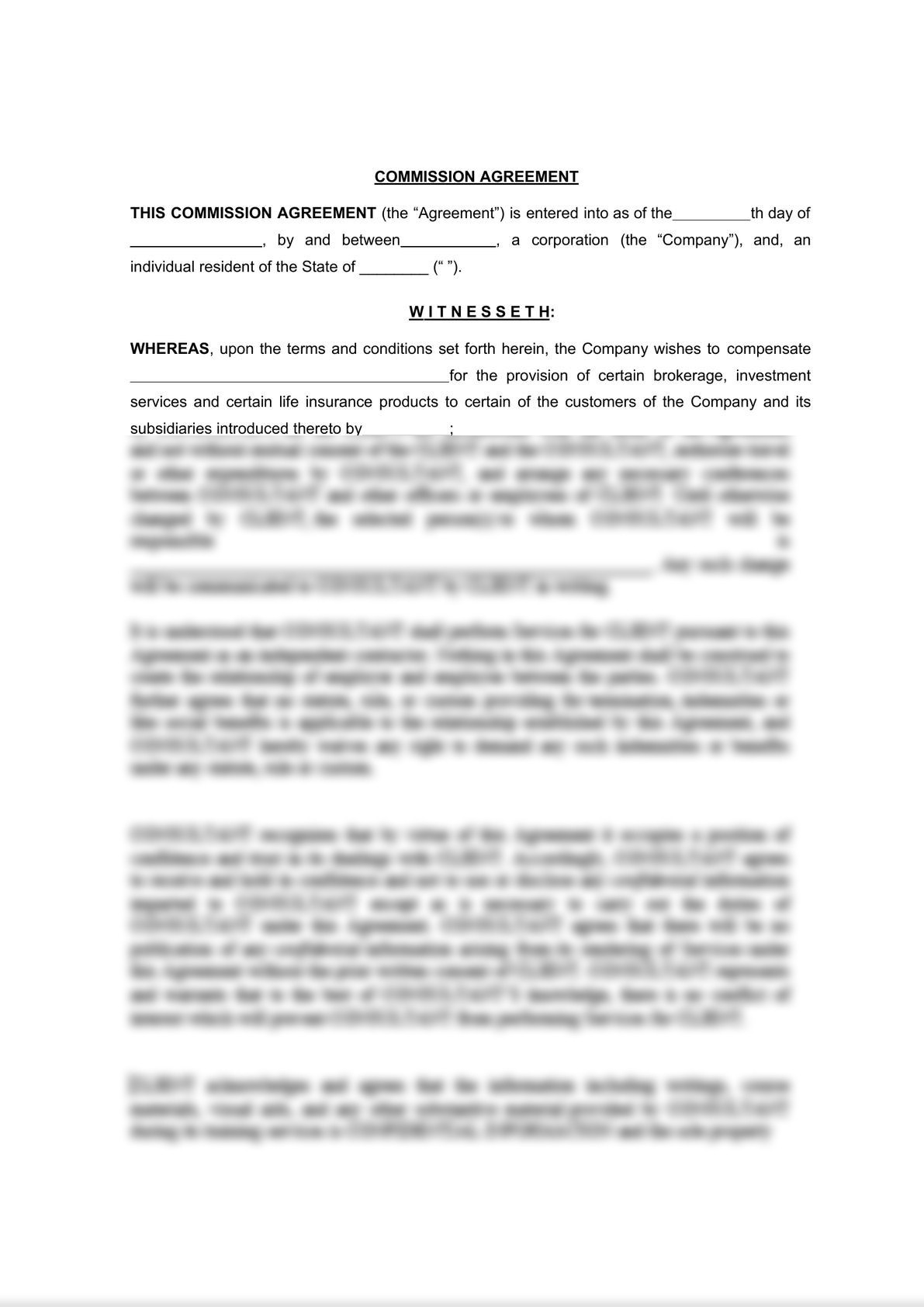 General Commission Agreement-0