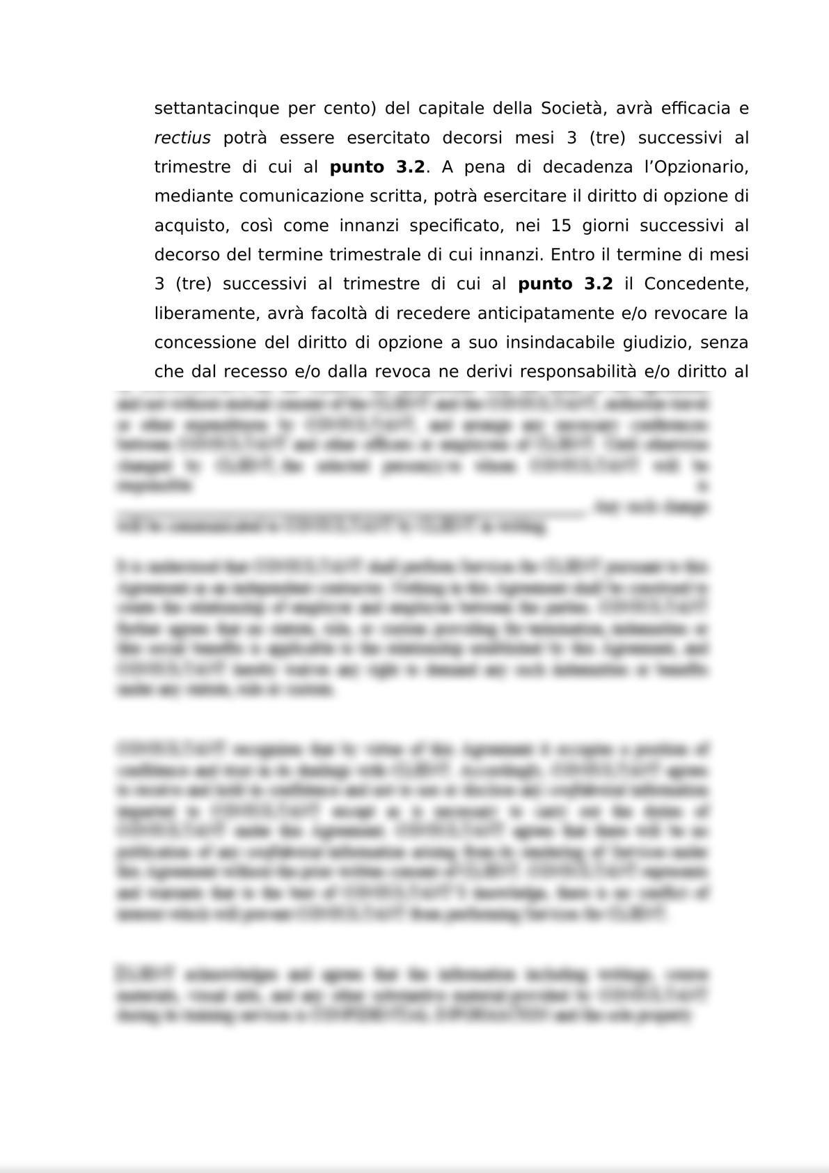 ACCORDO PER L'ATTRIBUZIONE DI DIRITTI DI OPZIONE DI ACQUISTO-3