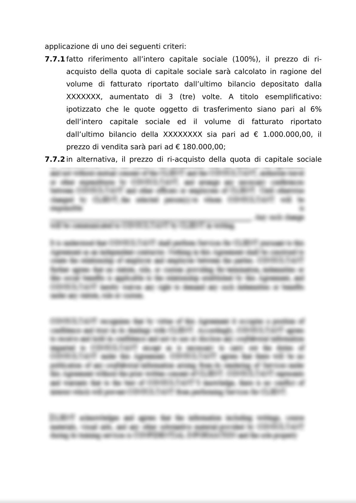 ACCORDO PER L'ATTRIBUZIONE DI DIRITTI DI OPZIONE DI ACQUISTO-9