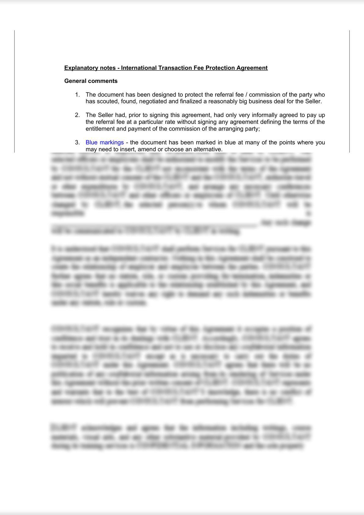 International Transaction Fee Protection Agreement-6