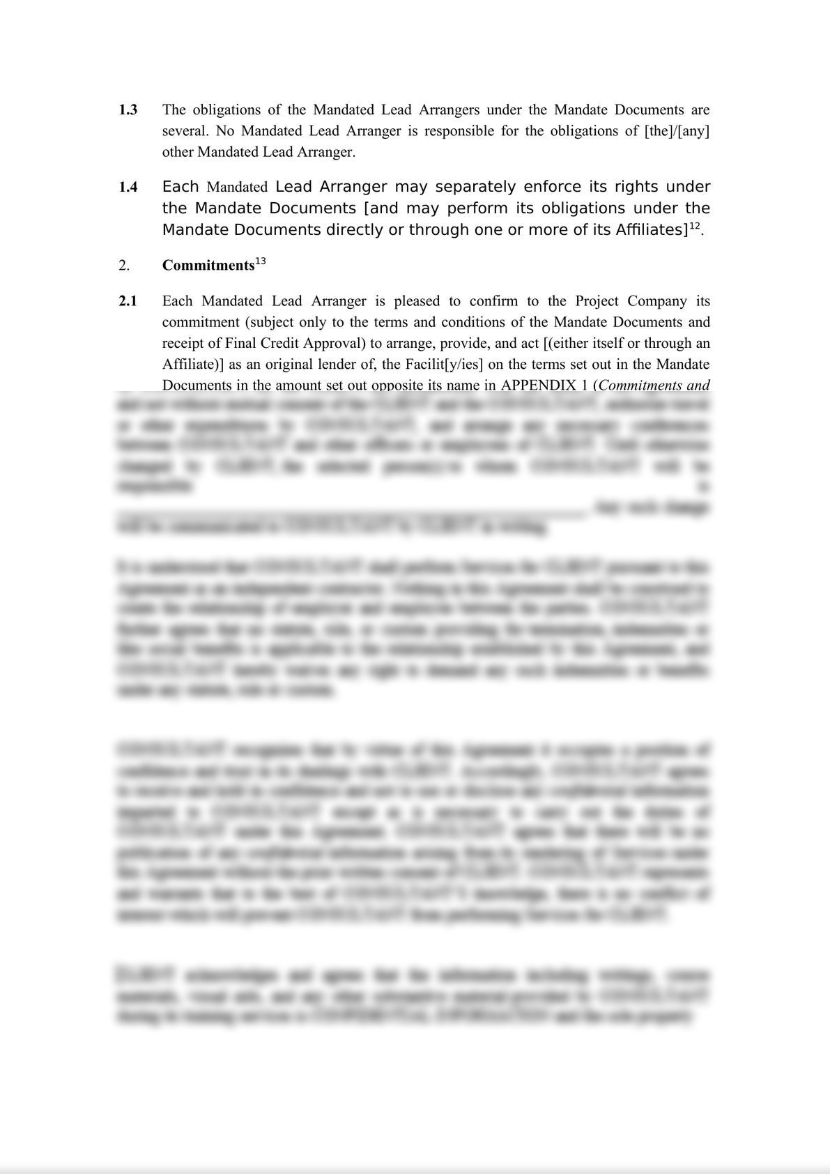 Template Project Finance Mandate Letter-4
