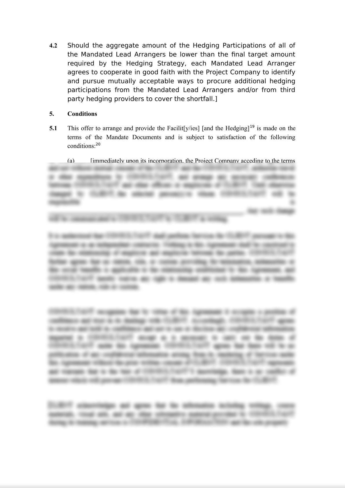 Template Project Finance Mandate Letter-6