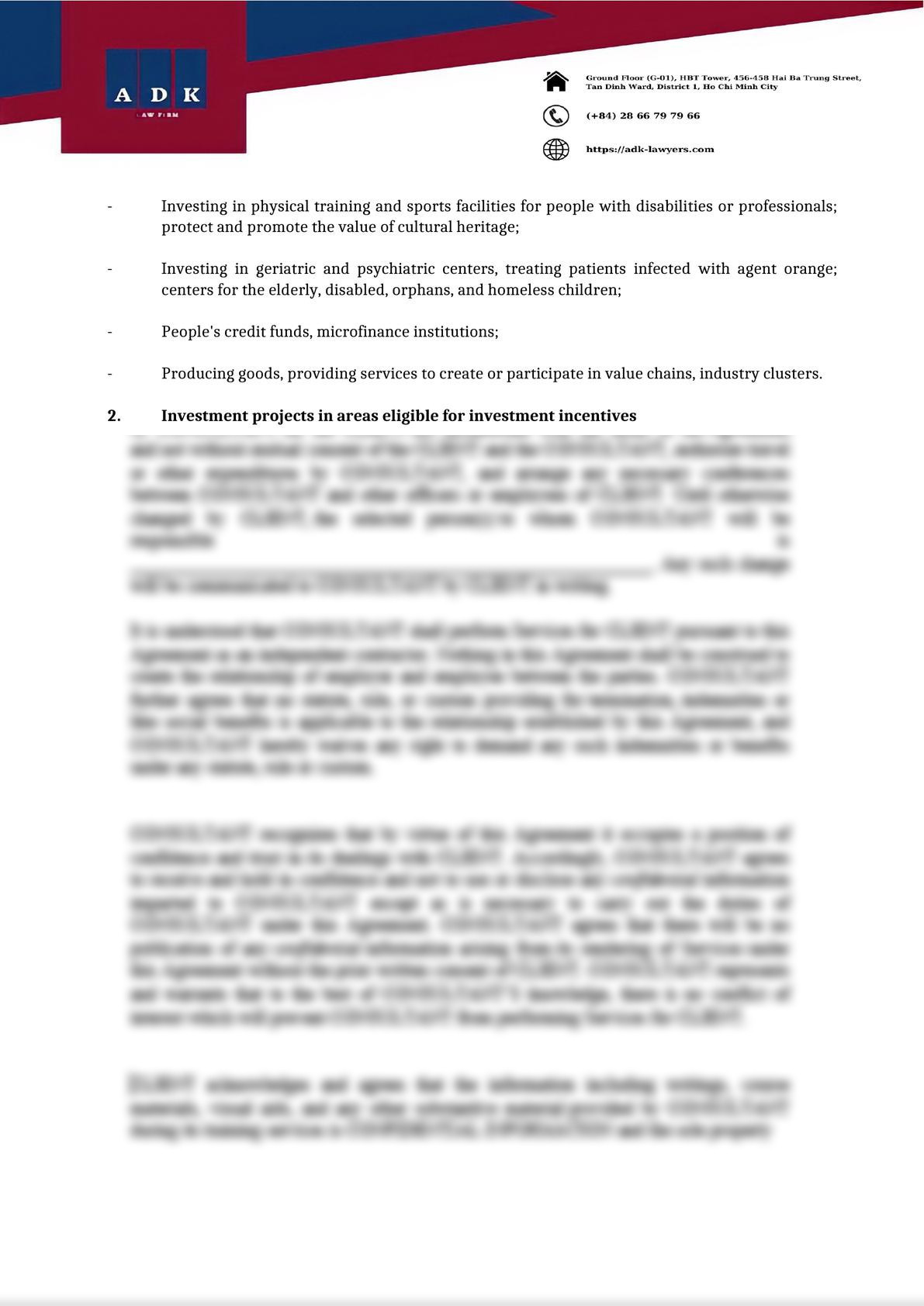 CONDITIONS FOR ENJOYING TAX INCENTIVES OF FDI ENTERPRISES-1