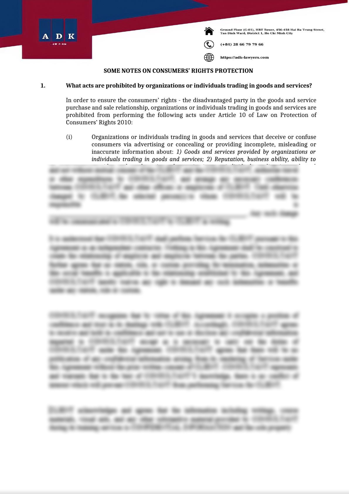 SOME NOTES ON CONSUMERS' RIGHTS PROTECTION-0