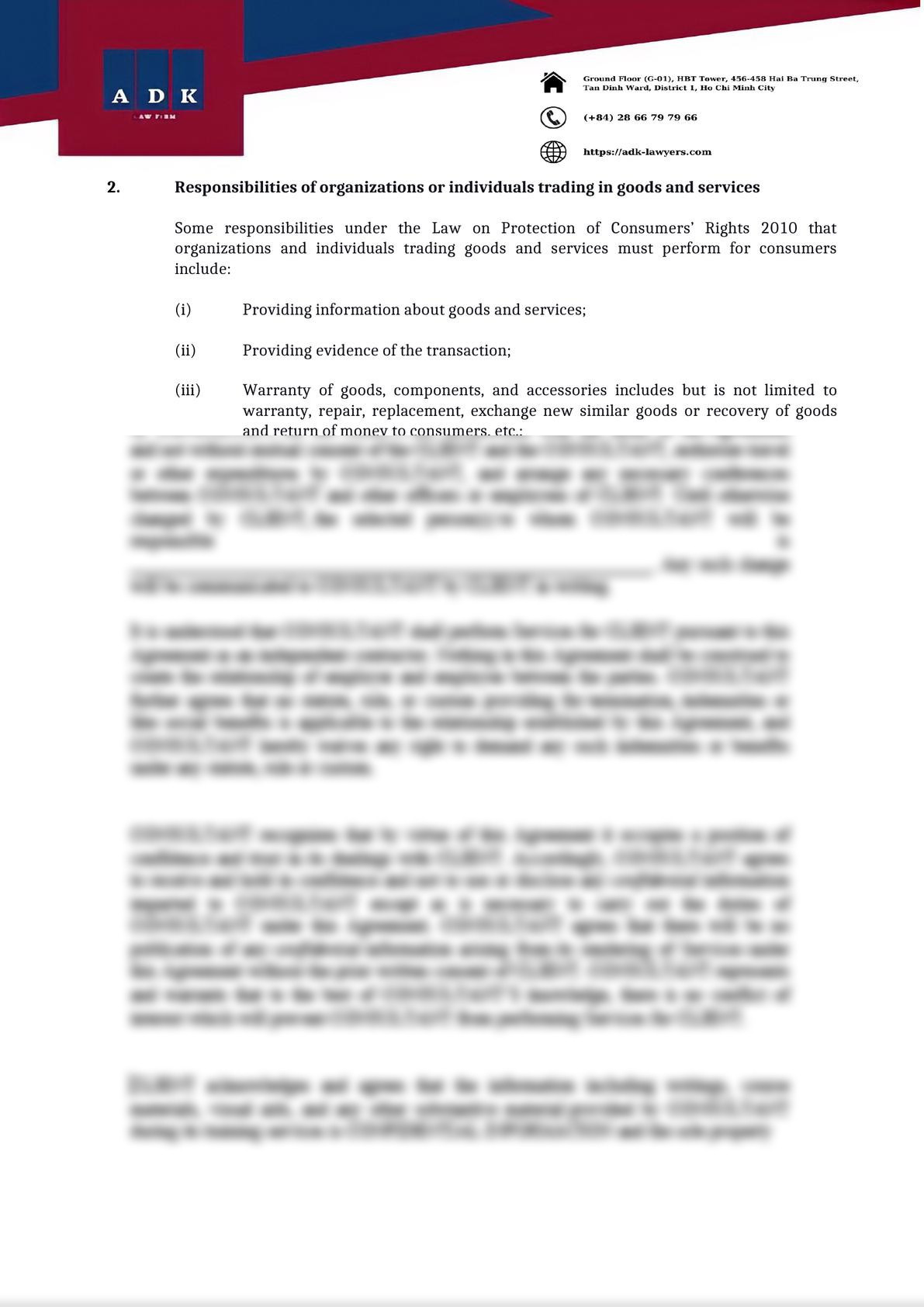 SOME NOTES ON CONSUMERS' RIGHTS PROTECTION-1