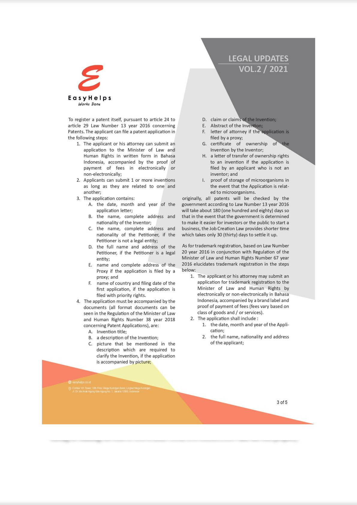 The Industrial Sector in the Job Creation Act No. 11 of 2020 New Regulation in Indonesia-2