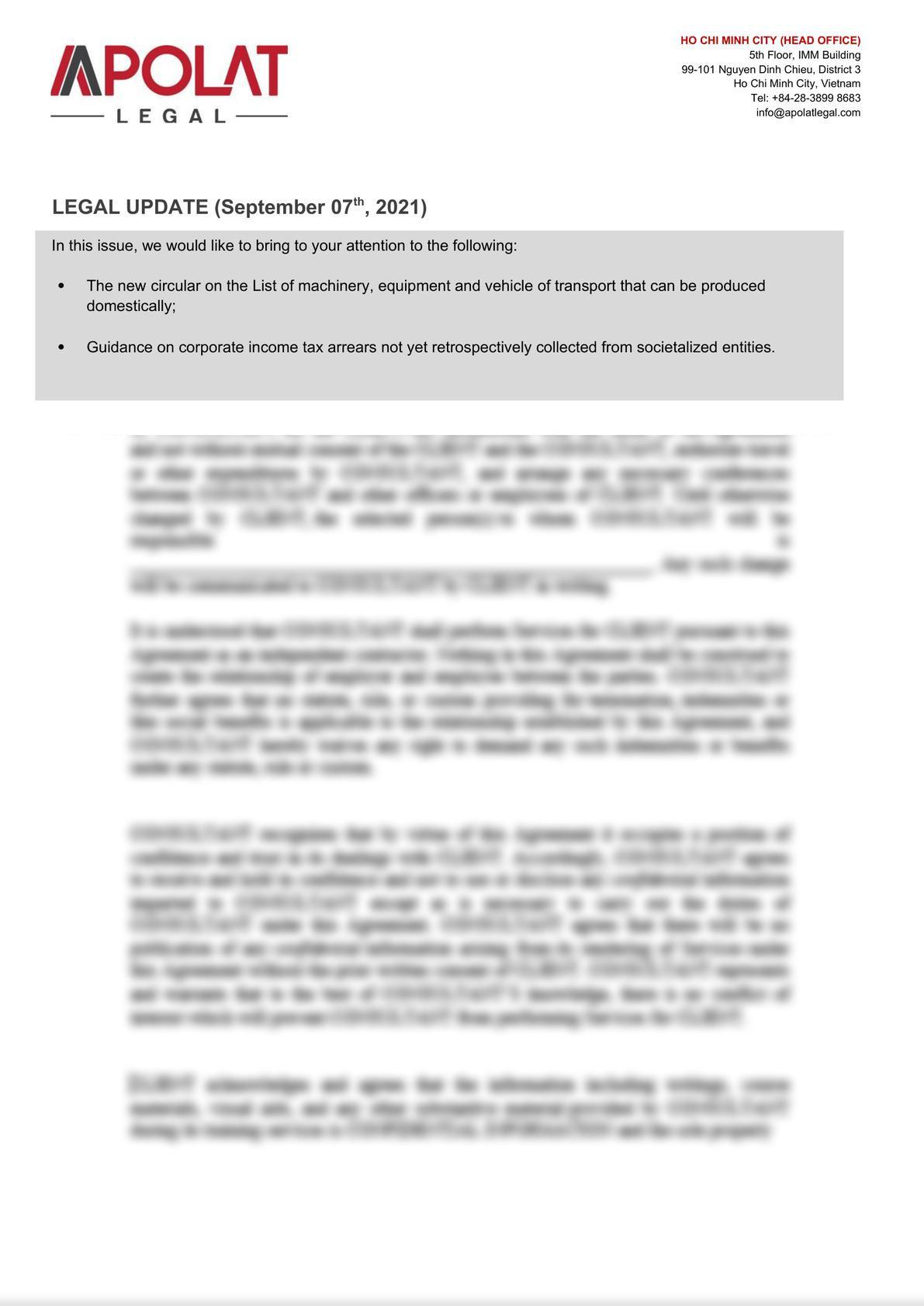 #1 Legal Update in September 2021-0