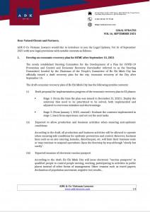 Legal Update Vol 16 September 2021