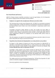 Legal Update Vol 18 September 2021
