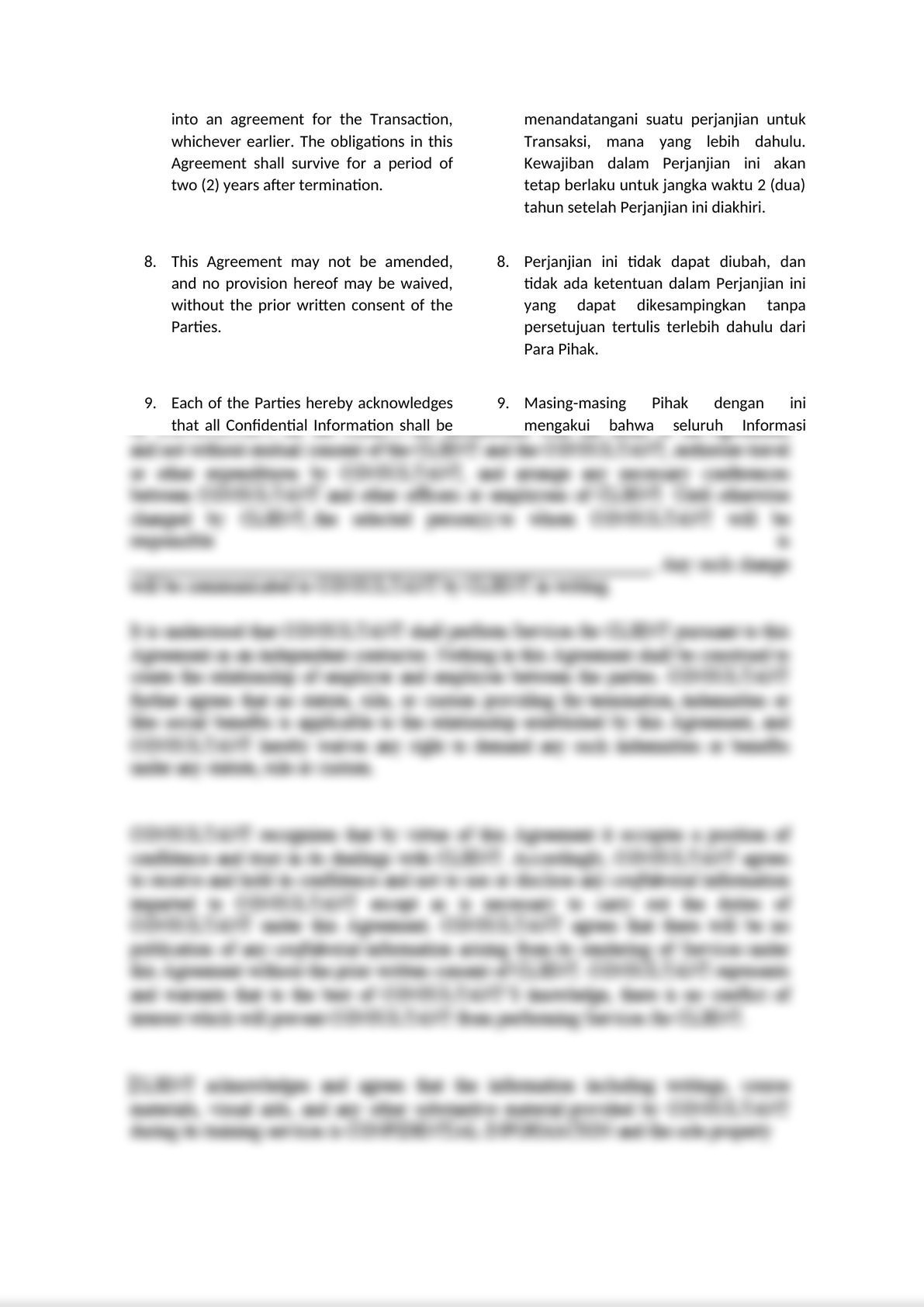 MUTUAL CONFIDENTIALITY AGREEMENT-5