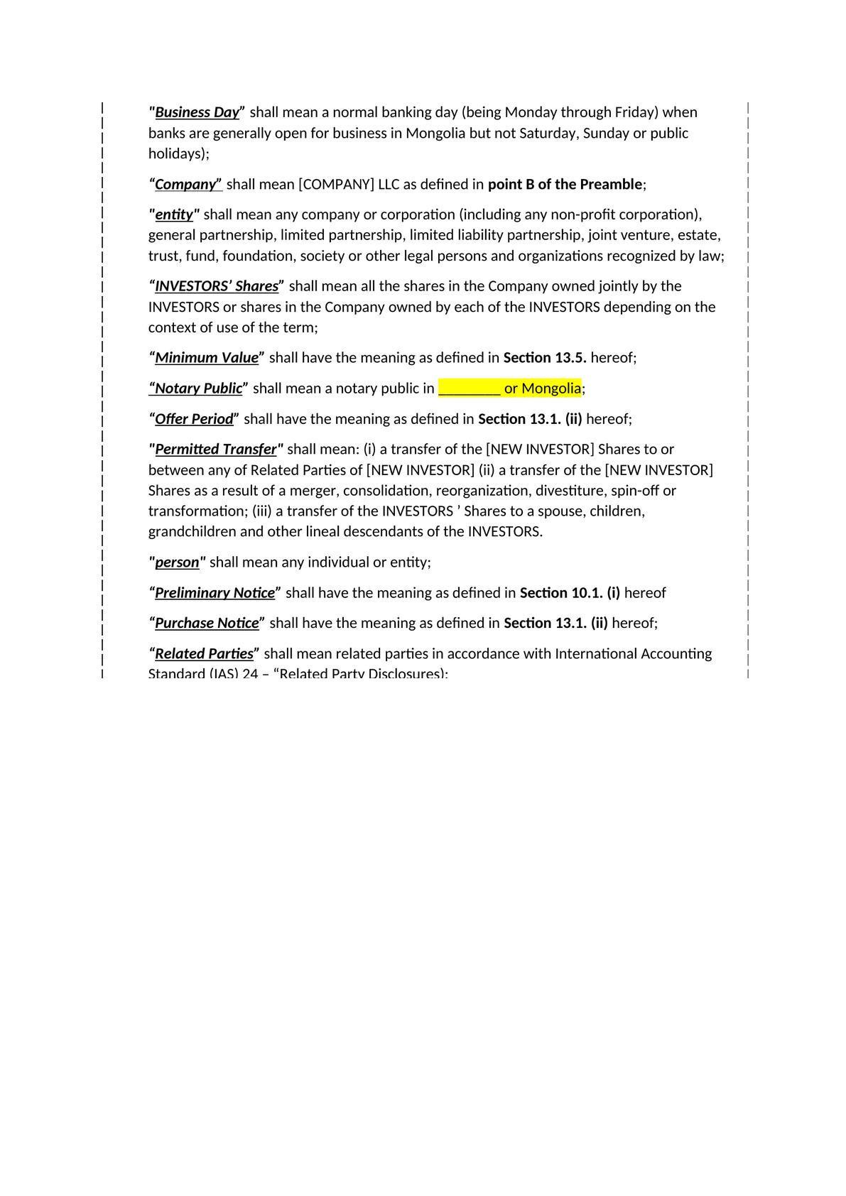 Shareholders' agreement-2