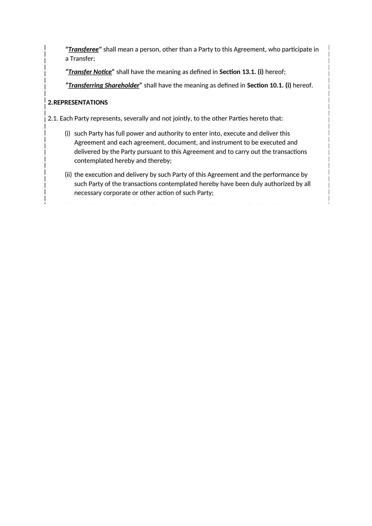 Shareholders' agreement-3