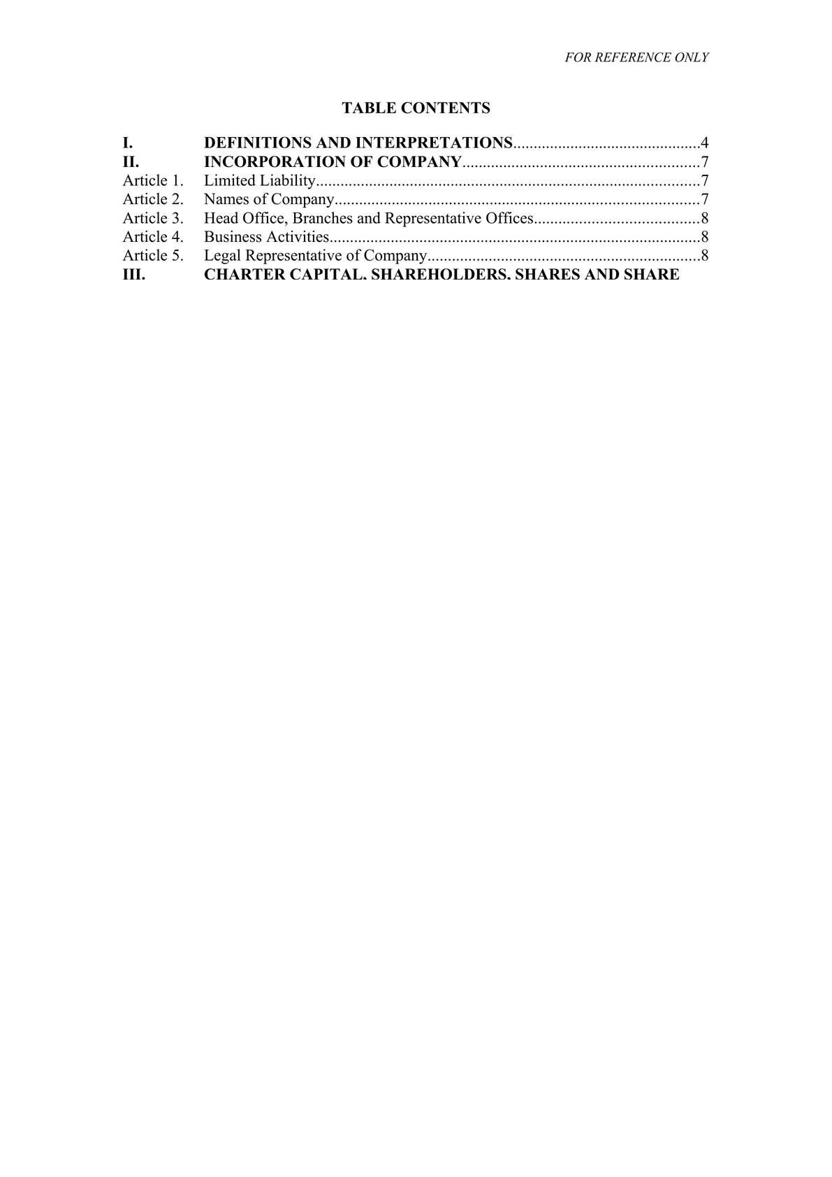 Joint stock company charter template in Vietnam (English)-1