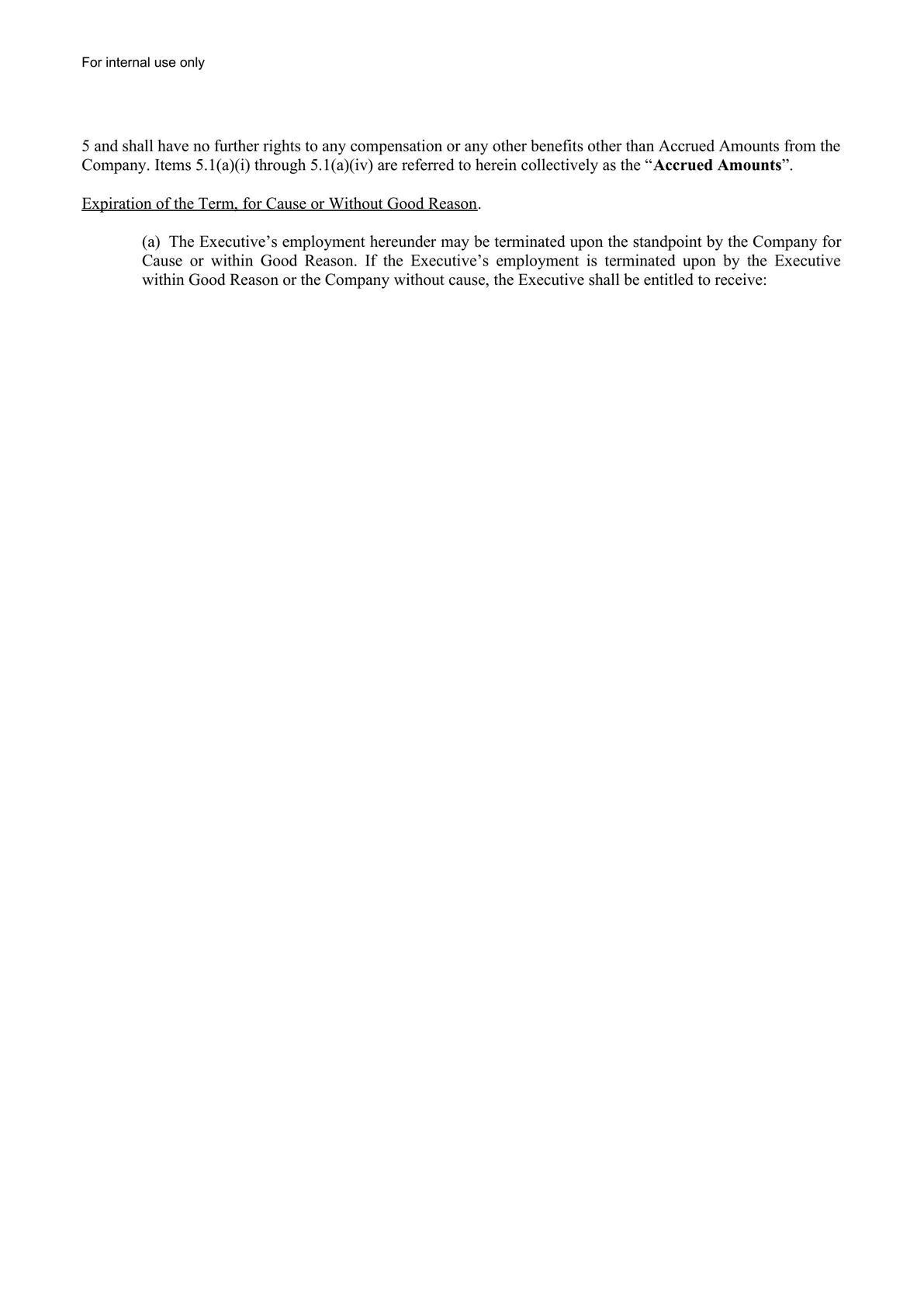 CEO Employment Agreement-2