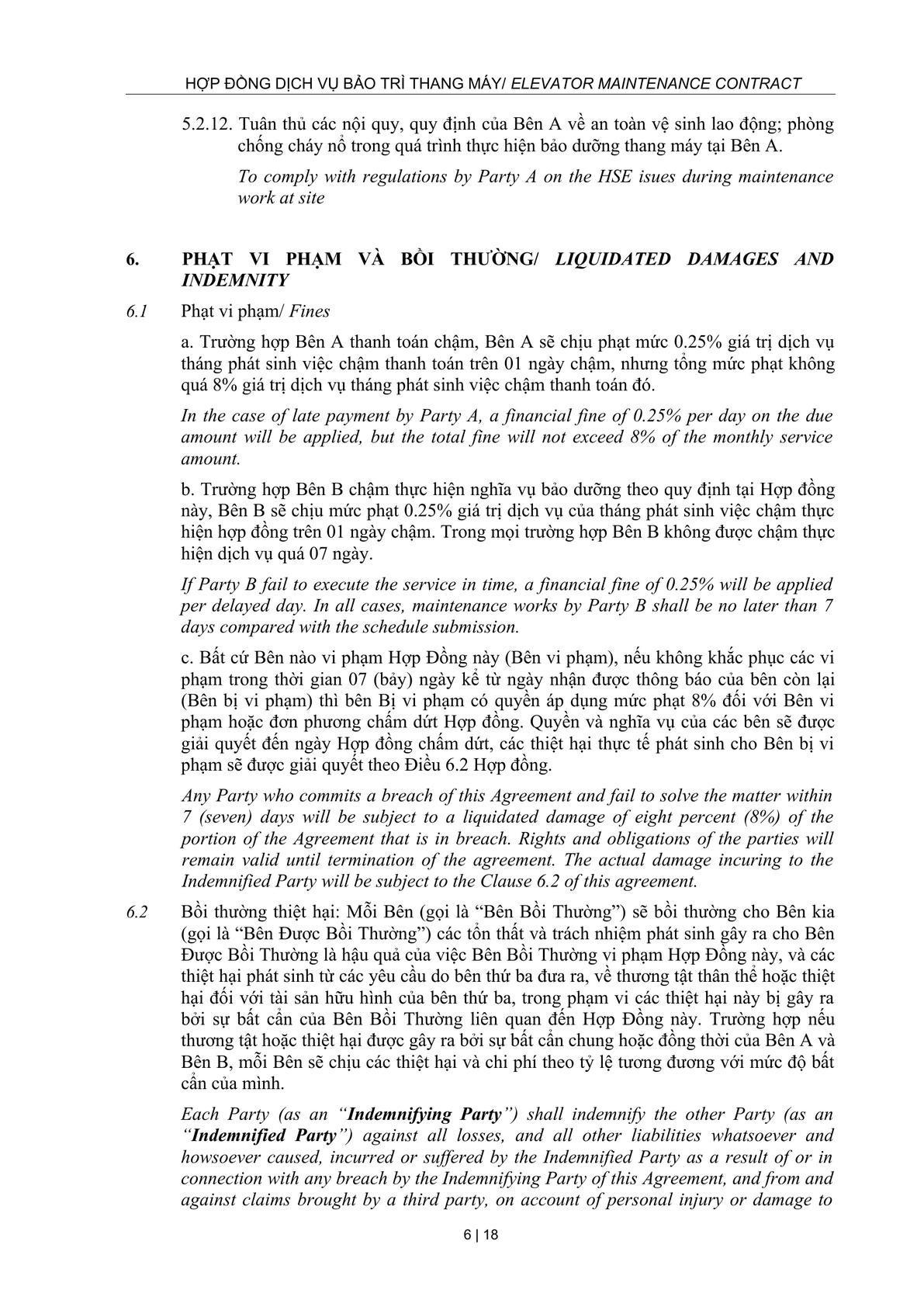 Maintenance Service Agreement-5