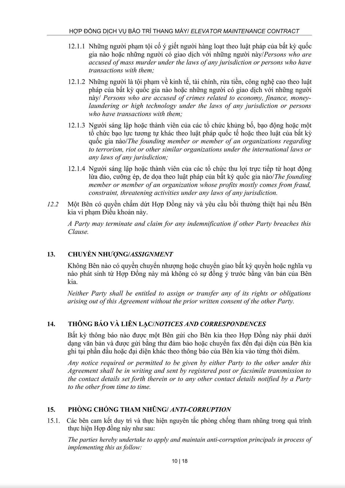 Maintenance Service Agreement-9