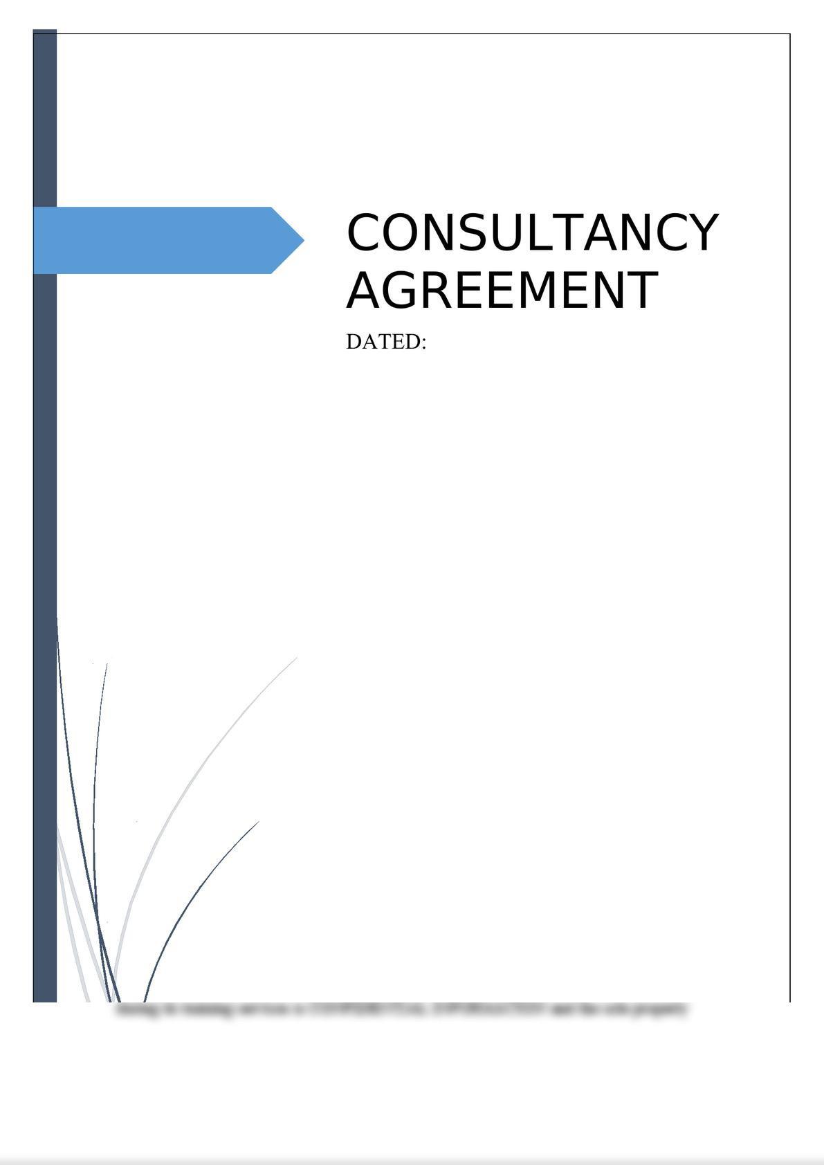 Consultancy Agreement-0
