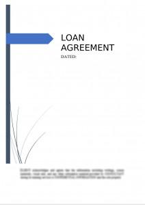 Loan Agreement (Secured)