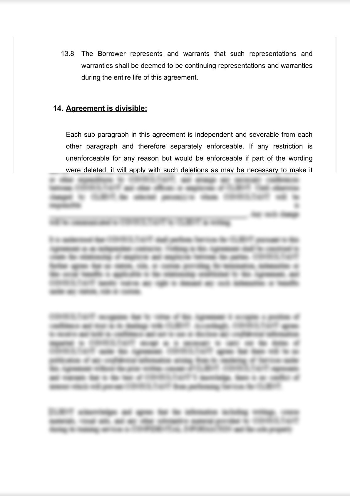 Loan Agreement (Secured)-4