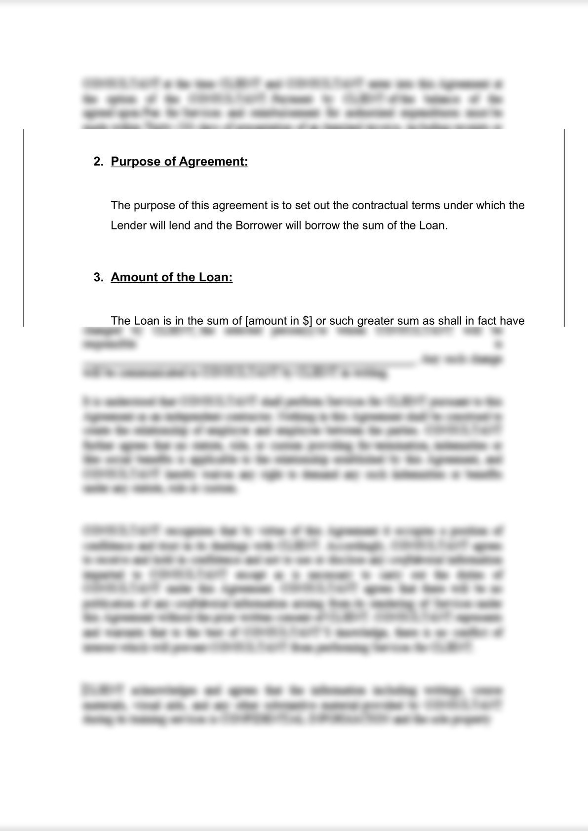 Loan Agreement (Secured)-2