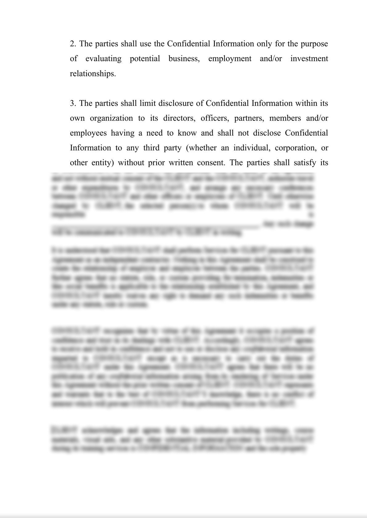 Mutual Non-Disclosure Agreement-1