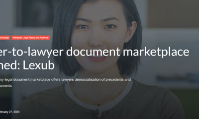 Lawyer-to-lawyer document marketplace launched: Lexub